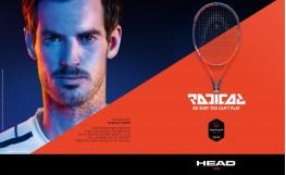 Predstavljamo novu RADICAL seriju reketa za tenis 2018