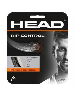 Žica za tenis reket RIP CONTROL 16 SET crna