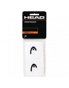 """Znojnici za ruke 2.5"""" HEAD, bijela"""