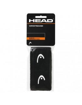 """Znojnici za ruke 2.5"""" HEAD, crni"""