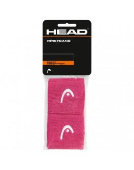 """Znojnici za ruke 2.5"""" HEAD, roza"""