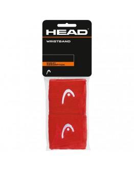 """Znojnici za ruke 2.5"""" HEAD, crvena"""