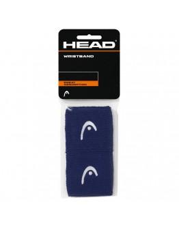 """Znojnici za ruke 2.5"""" HEAD, tamnoplava"""