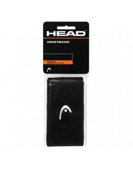 """Znojnici za ruke 5"""" HEAD, crni"""