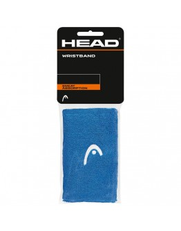 """Znojnici za ruke 5"""" HEAD, plava"""