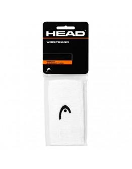 """Znojnici za ruke 5"""" HEAD, bijela"""