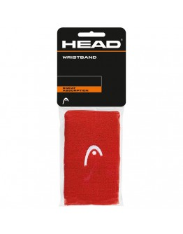 """Znojnici za ruke 5"""" HEAD, crvena"""