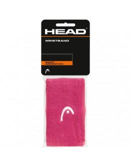 """Znojnici za ruke 5"""" HEAD, roza"""