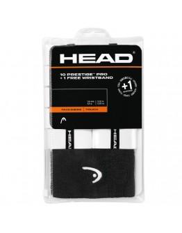 Prestige TM Pro 10+ overgrip HEAD, bijela
