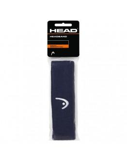 Traka za glavu tenis HEAD tamnoplava