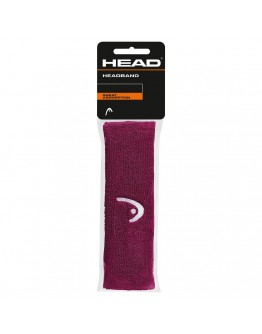 Traka za glavu tenis HEAD burgundi