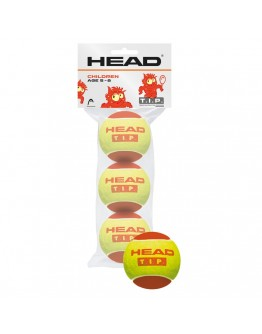 HEAD loptica za tenis TIP crvena 3/1