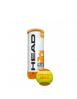 HEAD loptica za tenis TIP narančasta 3/1