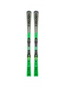 HEAD Ski set Supershape i.Magnum